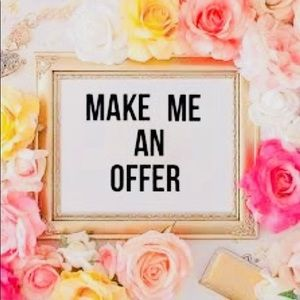 💗 MAKE ME AN OFFER!! 💗
